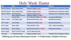Holy Week Easter week